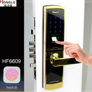 Cheap Biometric Fingerprint Security Digital Door Lock (HF6609) pictures & photos