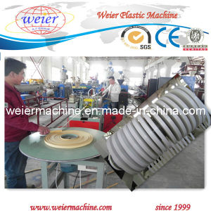 PVC Edge Banding Extrusion Machinery with Three Color Printing Line pictures & photos