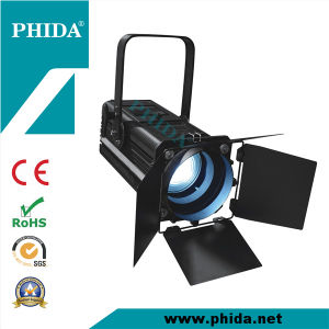 High-Quality RGBW 200W CRI > 90 LED Fresnel Stage Lighting