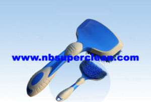 New Design Cheap Promotion Car Wheel Brush (CN1865) pictures & photos