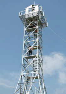 Wuxiao Professional Supply Galvanized Watchtowers pictures & photos