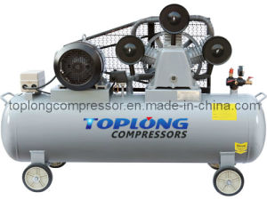 Piston Reciprocating Belt Driven Air Compressor Air Pump (V-0.9/8) pictures & photos