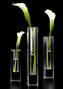 Square Crystal Glass Bud Vase pictures & photos
