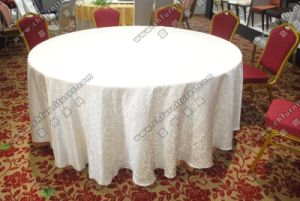 Wholesales Cheap Fancy Wedding Table Cloth (YC-0295) pictures & photos