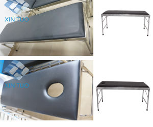 Factory Price Surgical Adjustable Patient Fancy Examination Couch pictures & photos