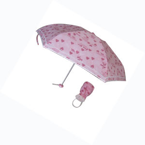Super Mini 5-Folded Umbrella (5FU001) pictures & photos