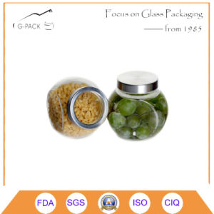 190ml Glass Food Jar with Metal Lids pictures & photos