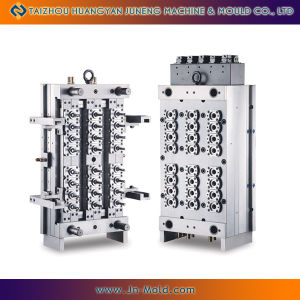 24 Cavities Pin Valve Preform Mold With Hot Runner (JN-24P)