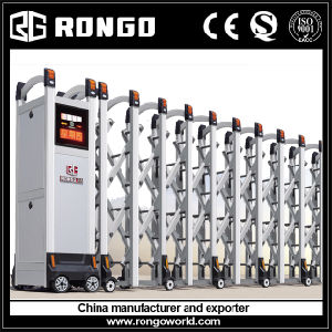 Rongo Factory Main Accordion Gates