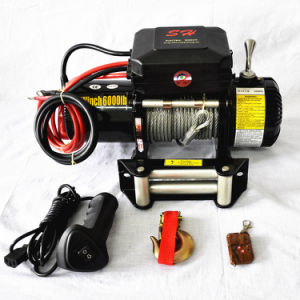 12V/24V Jeeps Winches off Road Winches 6000lbs CE Approved