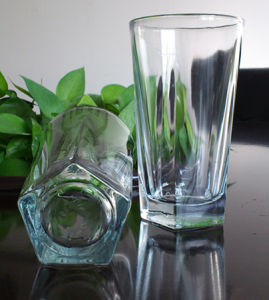 250ml Glass Tumbler High White Glass (AYA4010)