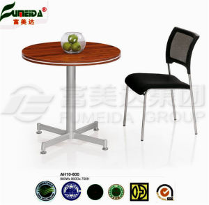 MFC High End Metal Foot Square Office Table pictures & photos
