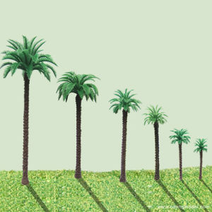 China Miniature Scale Model Palm Trees Architectural