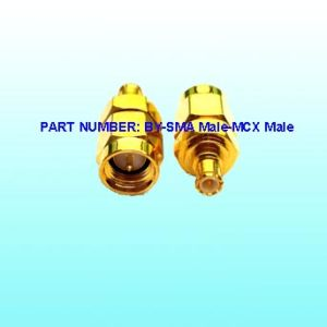 RF Adaptor Connector (BY-SMA Male to MCX Male)