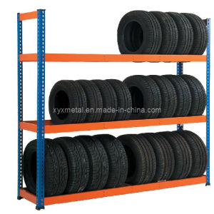 Tire Shelf Racking Warehouse Vertical Tyre Storage Rack pictures & photos