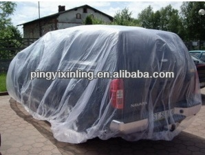 Plastic Car Dust Covers/Car Cover