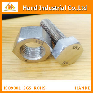Stainless Steel ASME A193 B8 B8m M60X300 Hex Head Bolt pictures & photos