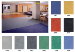 Commercial PVC Roll Flooring pictures & photos