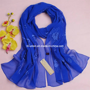 New Arrival Women 100% Silk Scarf
