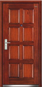 Steel Wooden Door (LT-206) pictures & photos