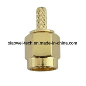 SMA Male Crimp Connector for Rg174 Cable