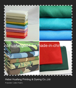 Polyester Cotton T/C Fabric / Lining Fabric / Pocketing Fabric / Shirting Fabric pictures & photos