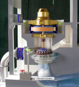 Hydro Power Station & Hydro Turbine Generator Model, MID-America Science Museum Model Supplier