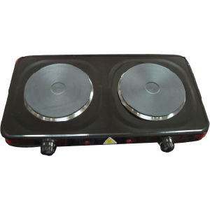 Soiled Double Electric Burner Stove
