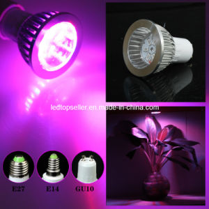 New 5W/7W E27/E14/GU10 LED Grow Light (ZW0075)