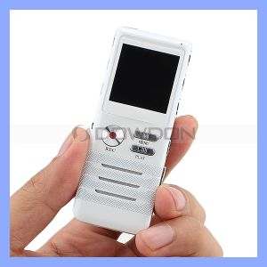 Dual-Core Aluminium Alloy 8GB Super HD Stereo Sound Digital Voice Recorder pictures & photos