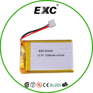 Hot Sale and High Quality 603450 1050mAh 3.7V Li Polymer Battery Packs pictures & photos