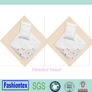 High Quality Baby Hooded Towel Toddler Beach Towel pictures & photos
