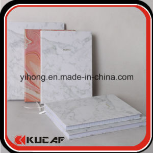 Custom Hot Stamping Logo Marble Print Hardcover Paper Diary Book pictures & photos