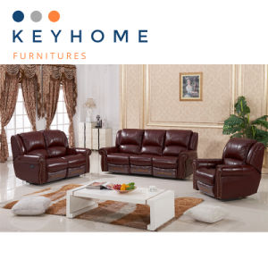 China American Style Leather Sofa Set Sectional Sofa Recliner ...
