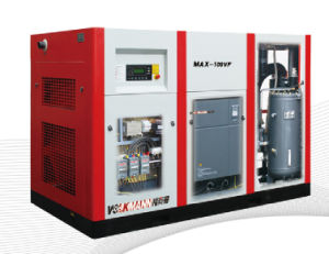 75kw/100HP Oil Free Water Lubrication Screw Air Compressor