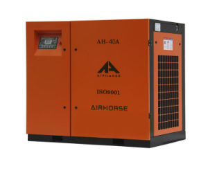 30kw/40HP Belt Driven Rotary Screw Air Compressor pictures & photos