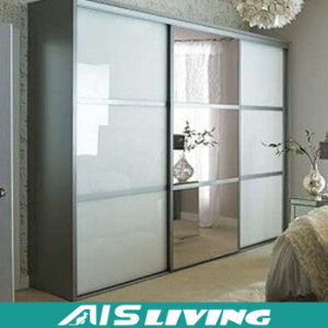 Wholesale Modular Wardrobe Closet Sliding Doors (AIS W009)