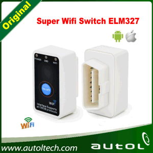 Best Quality of Switch WiFi Elm327 OBD2/Eobd Mini Elm 327 Auto Code Reader Tool Diagnostic Tool for Ios Android pictures & photos