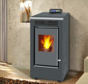 Indoor Using Wood Pellet Stove with Remote Control (MIDI-04) pictures & photos