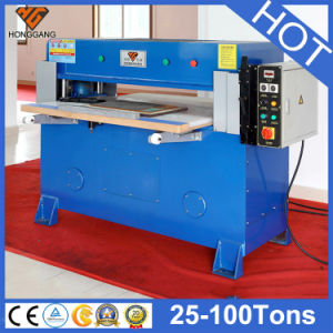 Hydraulic Folding Plastic Sheet Press Cutting Machine (HG-B40T) pictures & photos