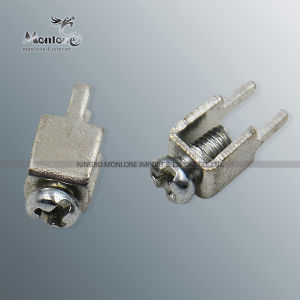 High Precision Brass Terminal Connector with Screw (MLIE-ATL017) pictures & photos