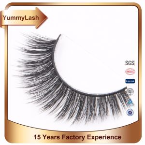 Wholesale Mink Eyelash 100% 3D Lashes Private Label pictures & photos