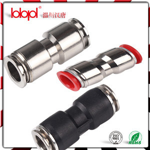 Metal Sleeve Round Male Straight Pneumatic Fittings pictures & photos