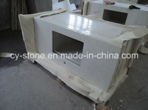 Natural Polished Decorative White Artificial Stone Quartz Granite for Countertop