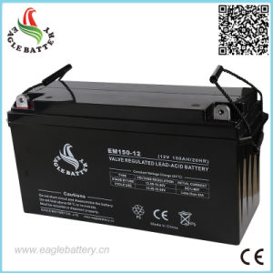 12V 150ah Rechargeable Sealed Lead Acid Battery for Automotive