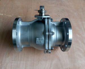 Flange End Stainless Steel CF8 Floating Ball Valve
