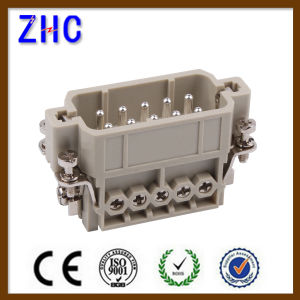 Ha 3, 4, 10, 16, 32 Pin Male and Female Industrial Electrical Heavy Duty Connector pictures & photos
