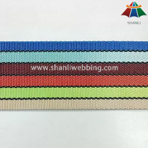 2 Inch Rainbow Striped Webbing