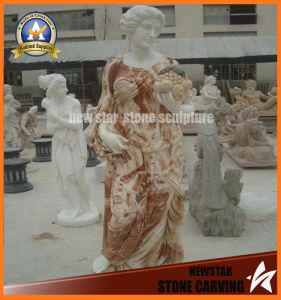 Stone Carving Lady Marble Sculpture (NS-11F05) pictures & photos