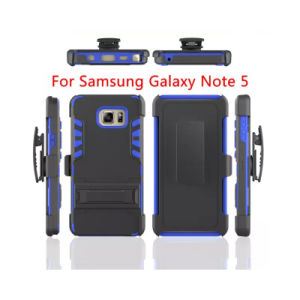 Defender Rugged Hybrid Belt Clip Case with Kickstand for Samsungs7